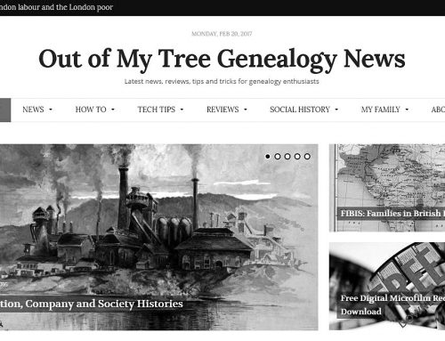Out of My Tree Genealogy